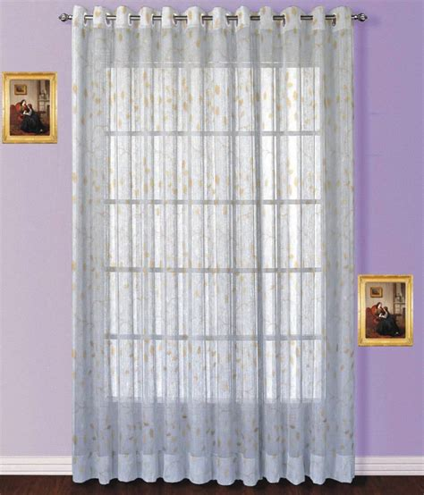 Beige And White Curtains Fabutex Single Window Eyelet Curtain Embroidered Beige White Buy Fabutex Single Window Eyelet