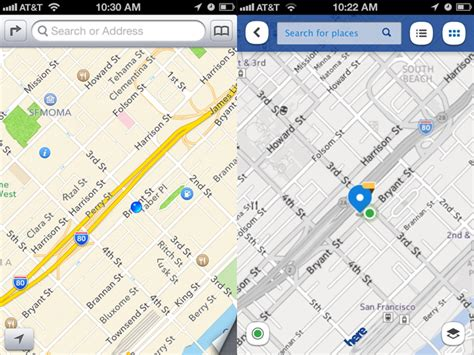 nokia maps on nokia s here maps ios app is a buggy eyesore technology and information