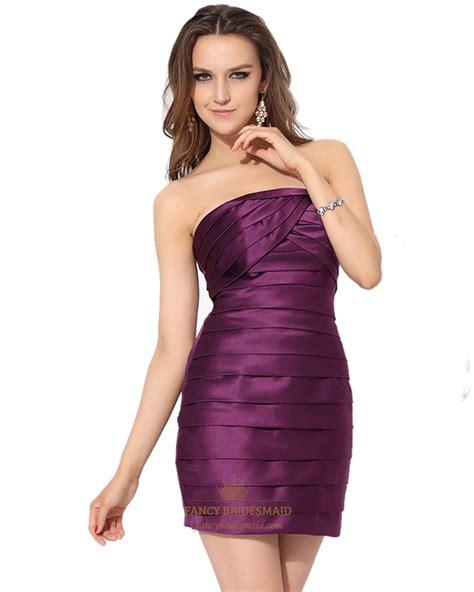 Purple Strapless Dress purple cocktail dress strapless www imgkid the