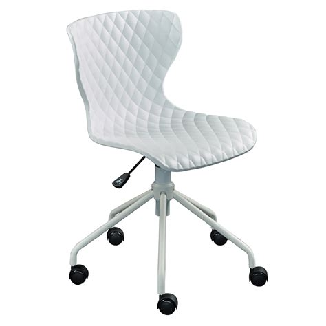 Modern Desk Chair White White Modern Desk Chair Whitevan