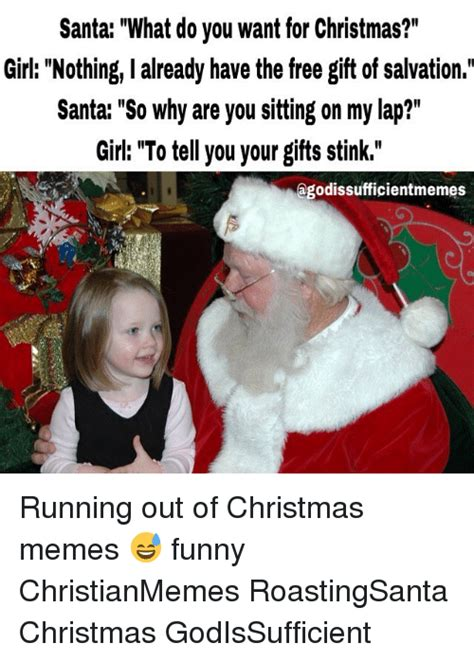 atheist santa what do you want for christmas kid a brand