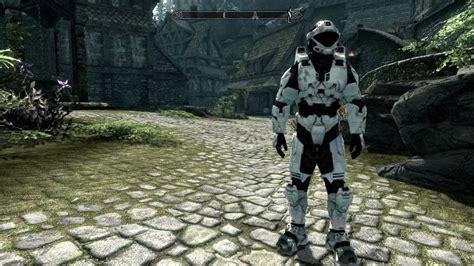 halo armor mod skyrim skyrim новая броня из halo