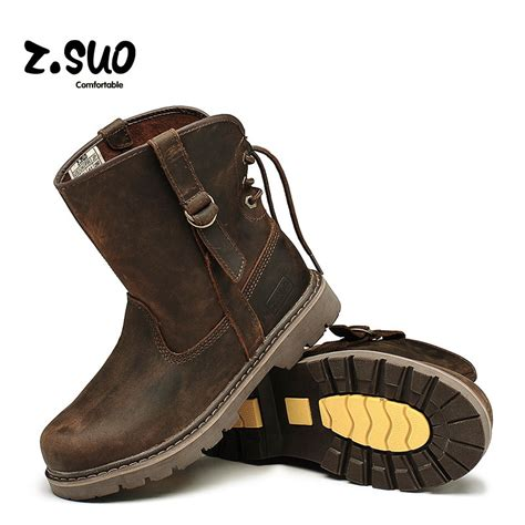 boots for cheap discount s genuine leather western boots outdoor zsuo