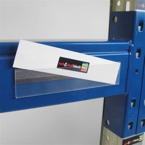 Plastic Shelf Labels by Plastic Magnetic Label Holders 39mm X 200mm Rack Shelf
