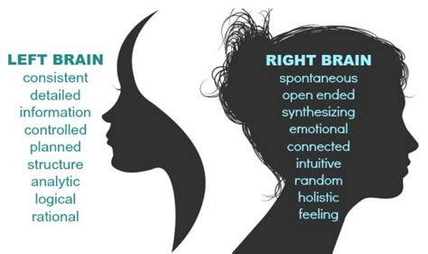 Brain Left Or Right personnel staffing 187 right brained or left brained which