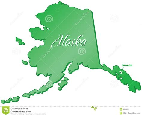 state pictures state of alaska stock vector image of alaska states