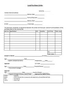 supplier terms and conditions template 37 free purchase order templates in word excel