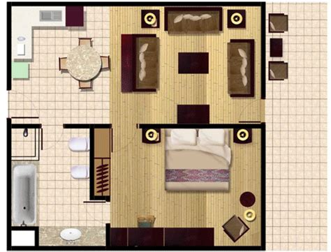 hotel room furniture layout foundation dezin decor standard hotel room plan