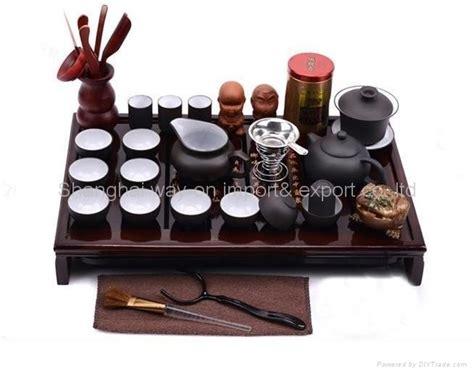 Sale Solid Wood Tea Tray Kungfu Tea yixing teapot kung fu sets with solid wood tea tray tea set china trading company