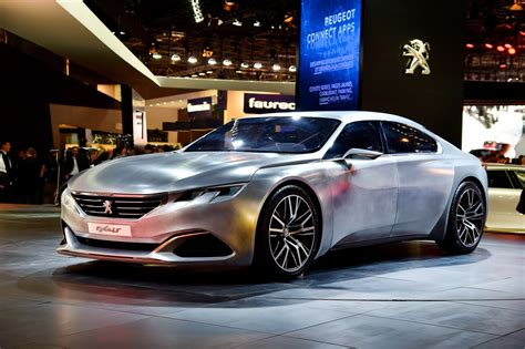 peugeot exalt peugeot exalt concept gets a few changes for europe