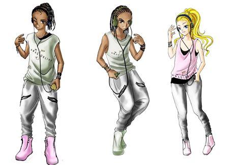 anime design jabulani design studio busy with anime character designs