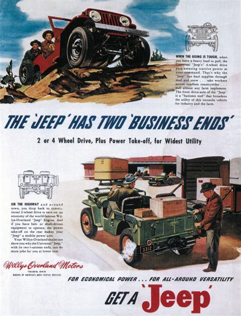 Jeep Ad Jeep Ads Cartype