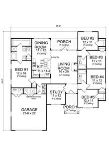 4 Bedroom 3 5 Bath House Plans by Best 25 5 Bedroom House Plans Ideas On