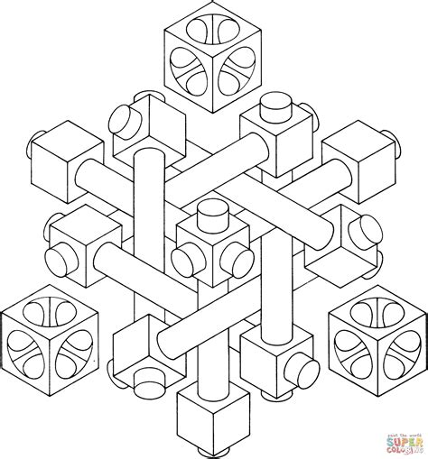 Optical Illusion 27 Coloring Page Free Printable Coloring Pages Optical Illusions