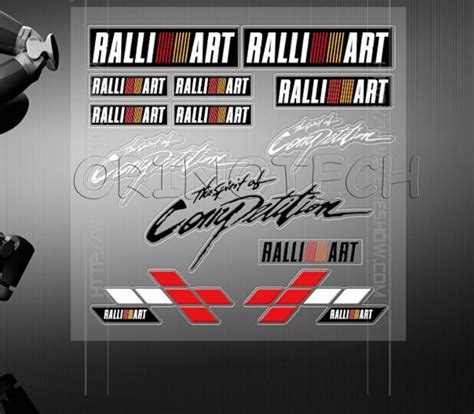 mitsubishi ralliart stickers popular ralliart sticker buy cheap ralliart sticker lots