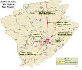 harrison county map harrison county
