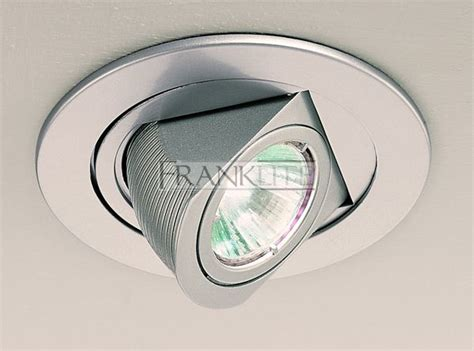 Recessed Led Lights Franklite Lighting Rf185 Low Voltage Round Silver Grey