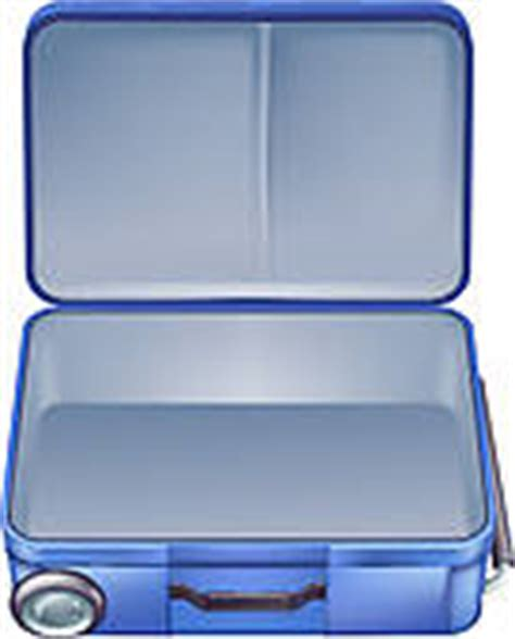 Open Suitcase Clipart open suitcase clip royalty free gograph