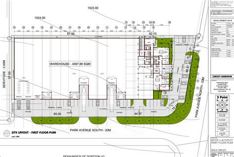 warehouse layout 3 point architects danie joubert