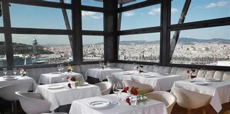 best restaurants in barcelona best restaurants with views in barcelona rent top