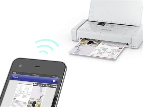 Printer Portable Epson lightweight epson px s05 mobile printer fits inside your bag damngeeky