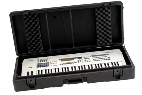 Hardcase Keyboard Yamaha 61 note keyboard wheels dj w flight yamaha key bag electronic keyboards