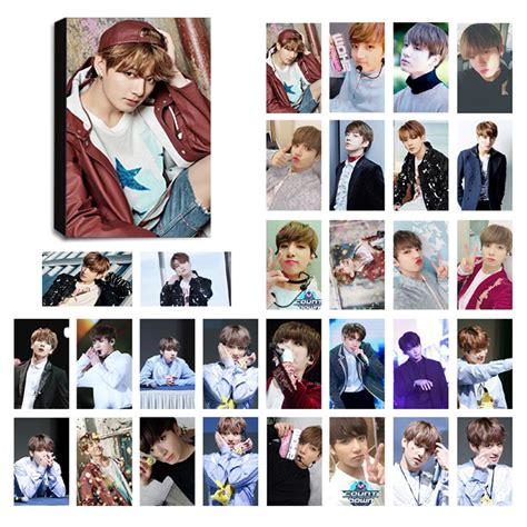Photocard Bts by Bts Jungkook Ver 4 Lomo Photocard Set Kpop Mall Usa