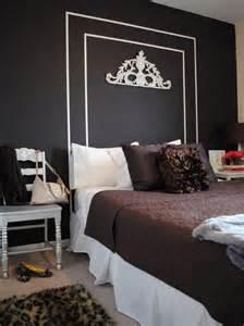 painted wall headboard bedroom wall painted headboard ideas with diy decoration
