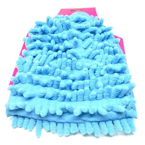 Sarung Tangan Pembersih Debu Microfiber microfiber cleaning glove sarung tangan pembersih debu blue jakartanotebook