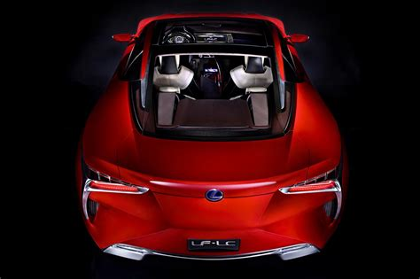 lexus lf lc engine lexus lf lc hybrid concept photos and details