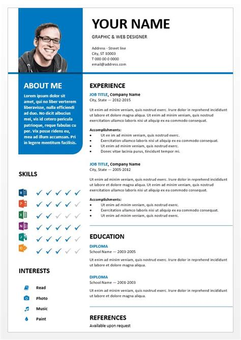 best 25 model curriculum vitae ideas only on pinterest