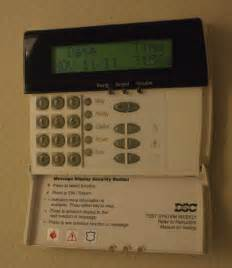 dsc home security dsc alarm keypad reset
