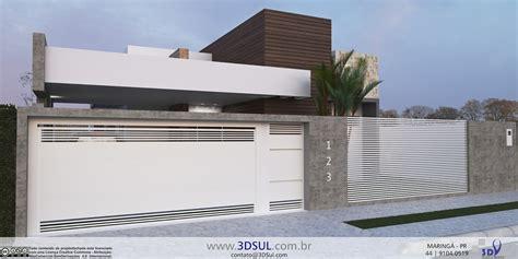 projeto 3d 3dsul maquete eletr 244 nica 3d projeto arquitetonico 3d casa moderna piscina