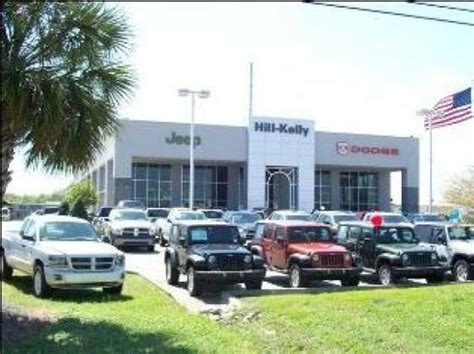 Jeep Dealers In Florida Hill Dodge Chrysler Jeep Pensacola Fl 32505 Car