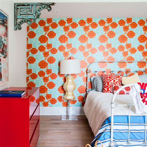 wallpaper two walls or one bedroom colour schemes colourful bedrooms bedroom colours