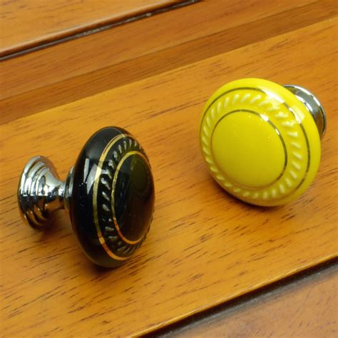 35mm ceramic cabinet porcelain knobs and handles kitchen