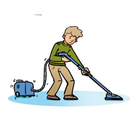 Hoovering The Floor by Household Chores Cglearn It