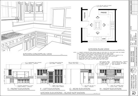 kitchen cad design autocad new