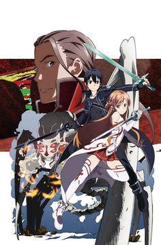 Kaos Poster 01 Ordinal Apparel sword ordinal scale kirito sword