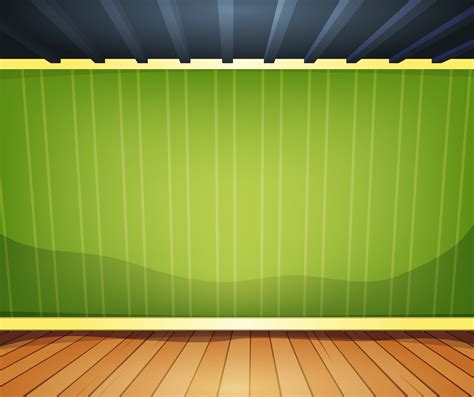 empty room  striped wallpaper   vector