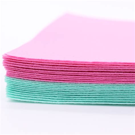 Felt Patchwork - felt fabric polyester nonwoven fabric patchwork needlework