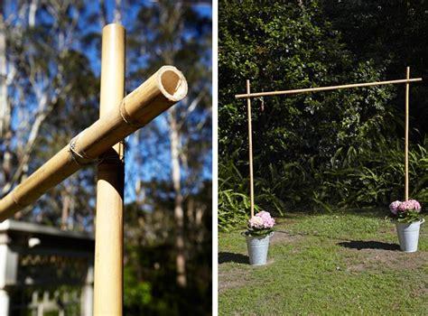 Wedding Arch Construction by Wedding Diy Build A Floral Wedding Arch