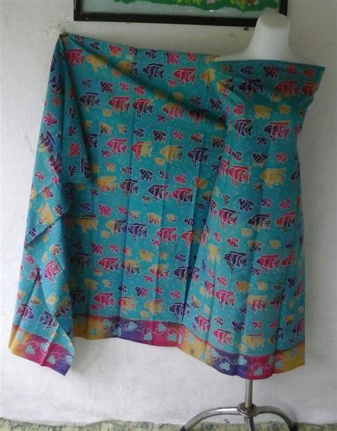 Kain Batik Promo motif batik ikan promo seragam batik madura murah