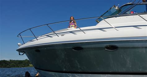 big boat pictures is a big boat or smaller boat better with kids boater kids