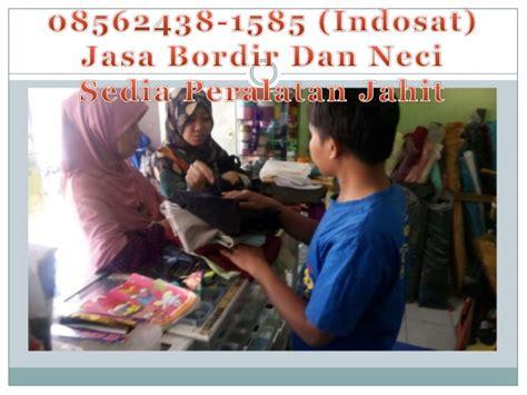 Jasa Bordir Logo 0856 2438 1585 indosat jasa bordir logo murah manggahang