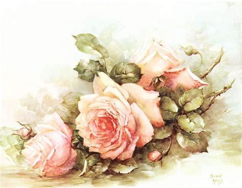 Decoupage Roses - mi baul decoupage rosas vintage designs