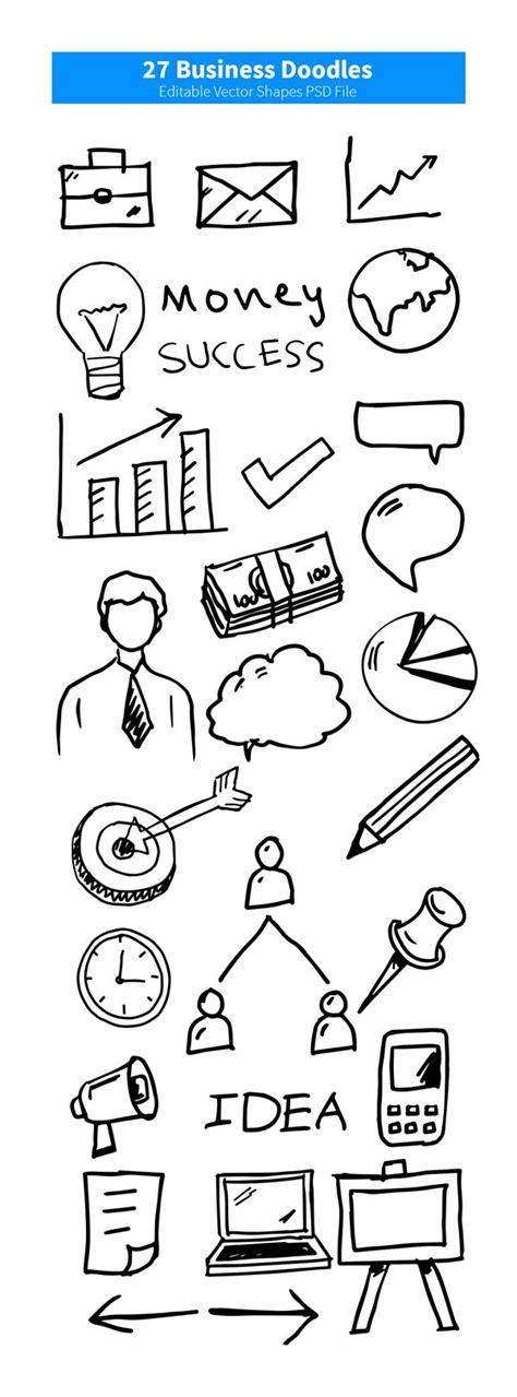 business doodle vector free 27 business doodles vector psd free vectors 365psd
