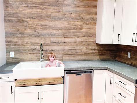 laminate flooring backsplash it looks like wood bower power