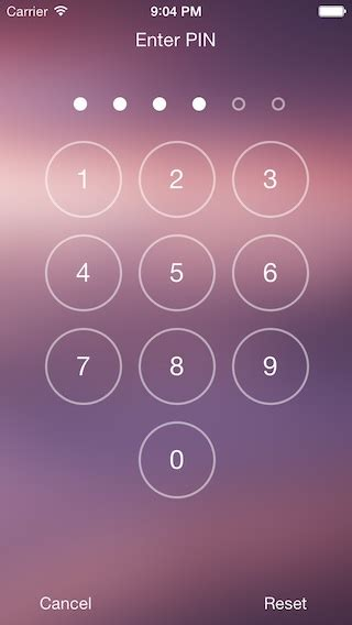 pattern lock android github open source ios component allowing you to easily implement