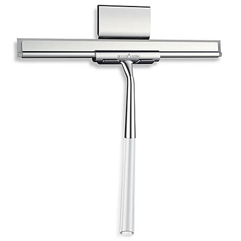 squeegee bathroom linea luxury shower squeegee bed bath beyond
